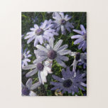 Purple Daisy Flowers Puzzle