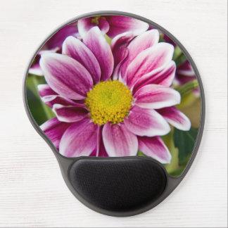 Purple daisy gel mouse pads