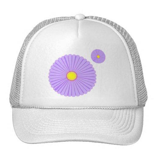 Purple Daisy Hat