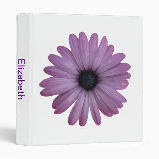 Purple Daisy Like Flower Osteospermum ecklonis Binders