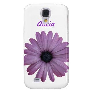 Purple Daisy Like Flower Osteospermum ecklonis Samsung Galaxy S4 Cover