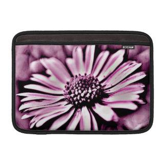 Purple Daisy MacBook Sleeve