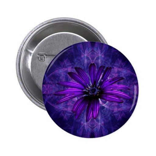Purple Daisy Passion Pin