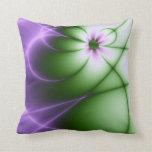 Purple Daisy Pillow
