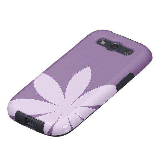 Purple Daisy Samsung Galaxy S3 Vibe Galaxy SIII Case