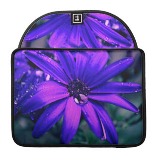 Purple Daisy Sleeve For MacBooks