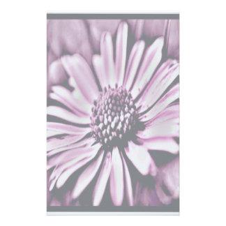 Purple Daisy Stationery