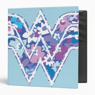 Purple Daisy WW 3 Ring Binders