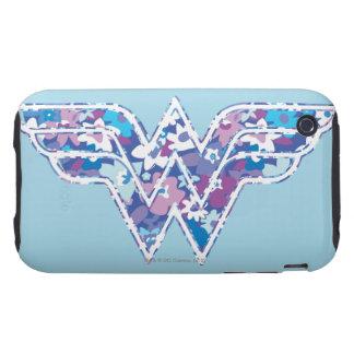 Purple Daisy WW iPhone 3 Tough Case