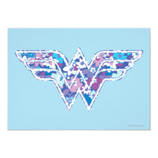 "Purple Daisy WW 5"" X 7"" Invitation Card"