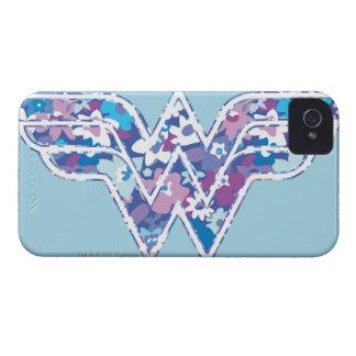 Purple Daisy WW iPhone 4 Case-Mate Case
