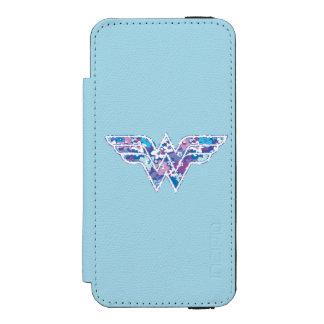 Purple Daisy WW Wallet Case For iPhone SE/5/5s