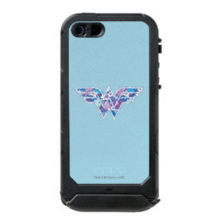 Purple Daisy WW Waterproof iPhone SE/5/5s Case