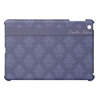 Purple Damask Brocade Designer  iPad Mini Cases