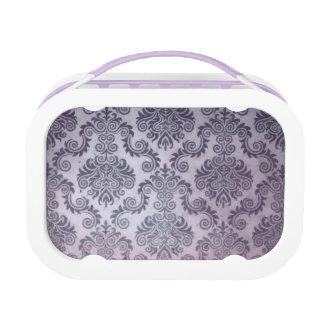 Purple Damask Yubo Lunch Box