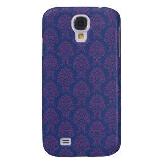 Purple Damask Pattern Galaxy S4 Case
