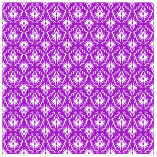 Purple Damask Pattern with White. Cutout