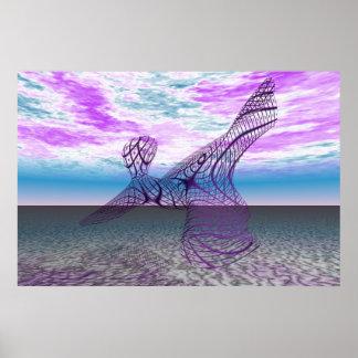 Purple Dancer - Poster