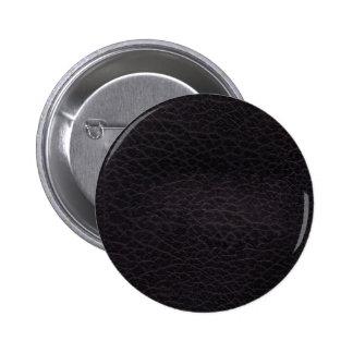 Purple dark elegant stylish & chic real leather button