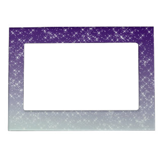Purple Daze Magnetic Picture Frame