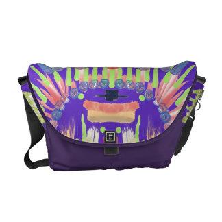 Purple delight messenger bag