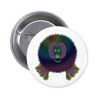 Purple Delight Pom Pom Pal Button