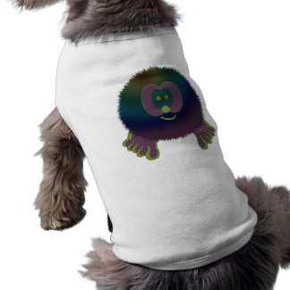 Purple Delight Pom Pom Pal Dog Tee