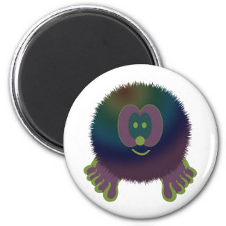 Purple Delight Pom Pom Pal Magnet