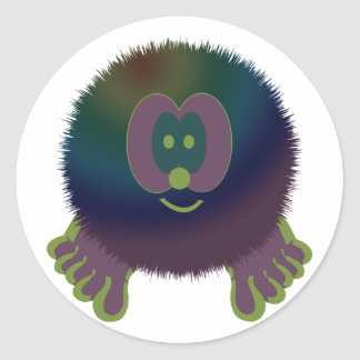 Purple Delight Pom Pom Pal Stickers