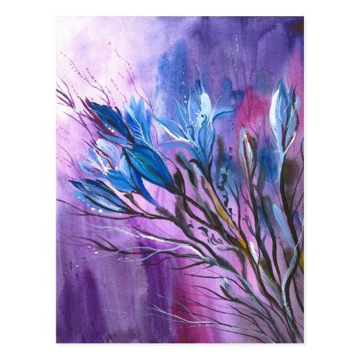 Purple Delight Post Cards