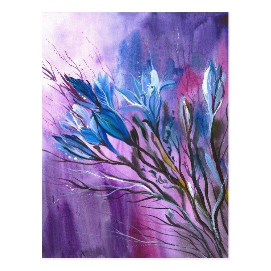 Purple Delight Postcard