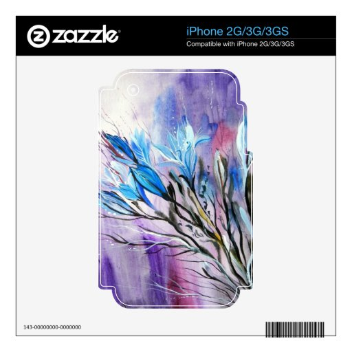 Purple Delight Skin For iPhone 3G
