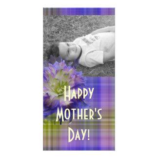 Purple Delphinium Card