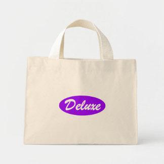 Purple Deluxe Mini Tote Bag