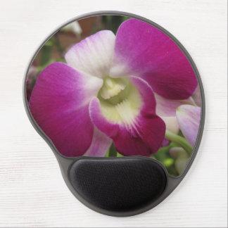 Purple Dendrobium Orchid Mousepad Gel Mouse Mat
