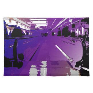 Purple Depature Cloth Placemat