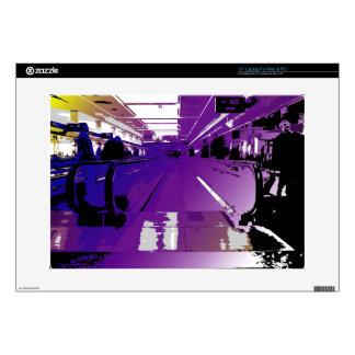 Purple Depature Skin For Laptop