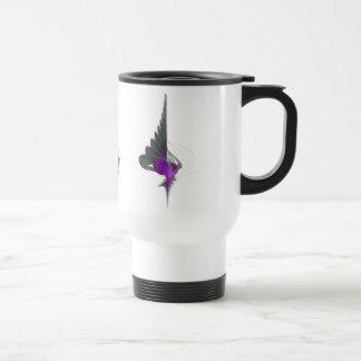 Purple Dervish Abstract Art 15 Oz Stainless Steel Travel Mug