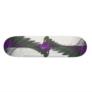 Purple Dervish Abstract Art Skate Board Decks