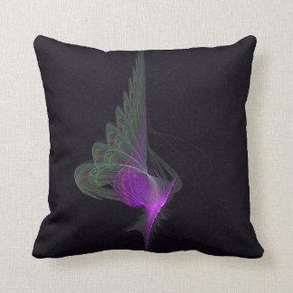Purple Dervish Abstract Art Throw Pillow