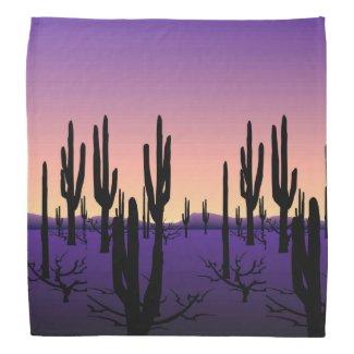 Purple Desert Bandana
