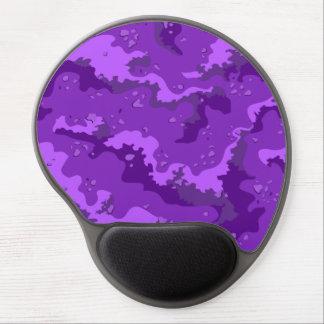 Purple Desert Camo Gel Computer Mousepad Gel Mouse Pad