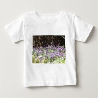 Purple Desert Flowers Baby T-Shirt