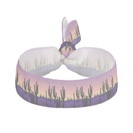 Purple Desert Hair Tie