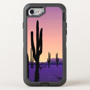 Purple Desert OtterBox Defender iPhone 7 Case