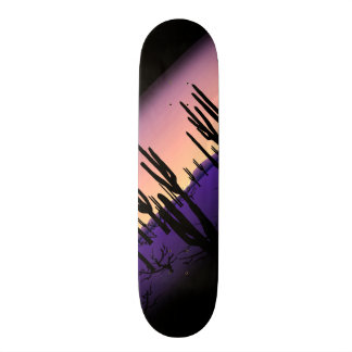Purple Desert Skateboard