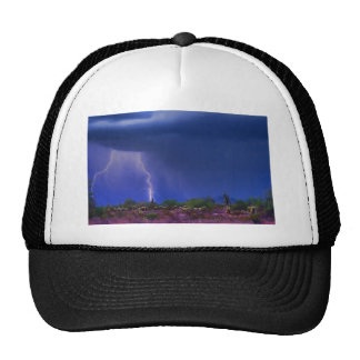 Purple Desert Storm Mesh Hat