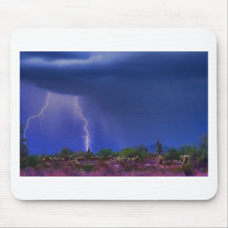 Purple Desert Storm Mouse Pad