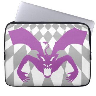 Purple Devil Computer Sleeves