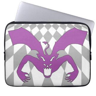 Purple Devil Laptop Computer Sleeves